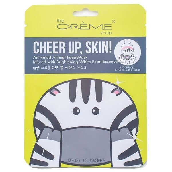 cheer up skin white pearl face mask - the crème shop - face mask