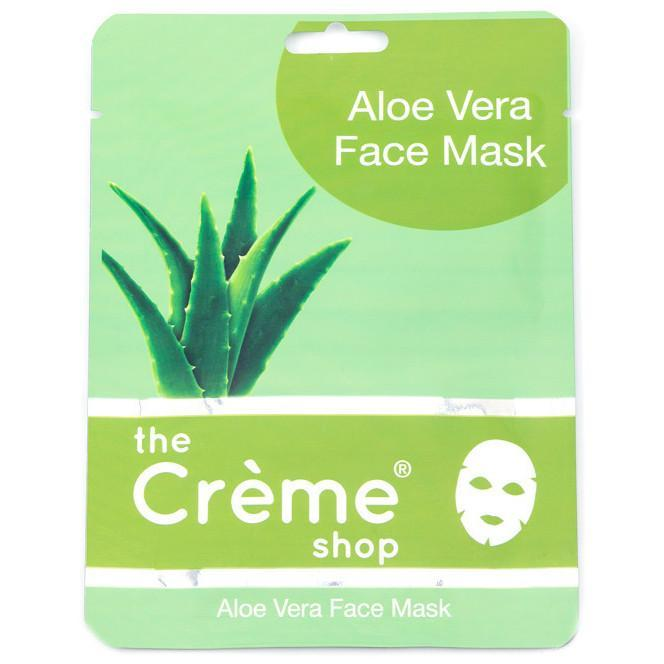 aloe face mask - the crème shop - face mask