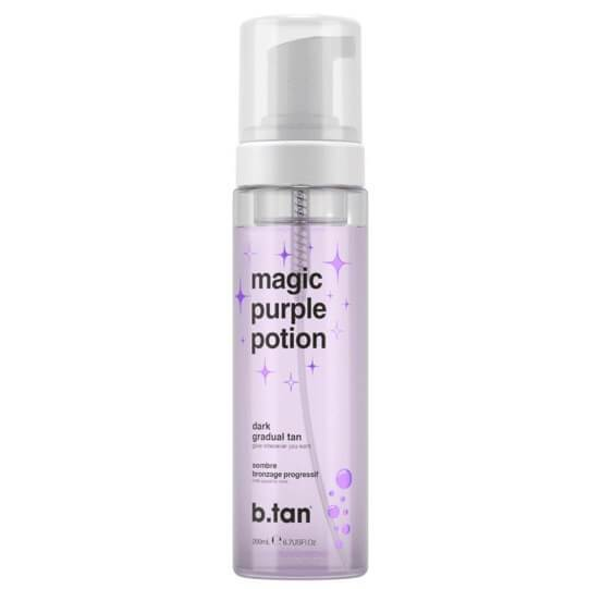 b.tan Magic Purple Potion - Dark Gradual Tan Mousse