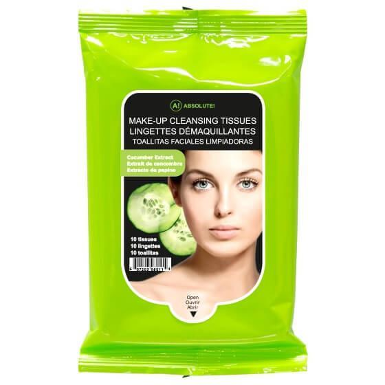Absolute New York Makeup Cleansing Tissue Cucumber
