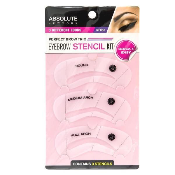 Perfect Eyebrow Stencil Kit - Absolute New York - Eyebrow Stencil