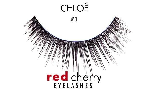 1 - chloe - red cherry lashes - lashes