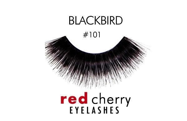 101 - blackbird - red cherry lashes - lashes