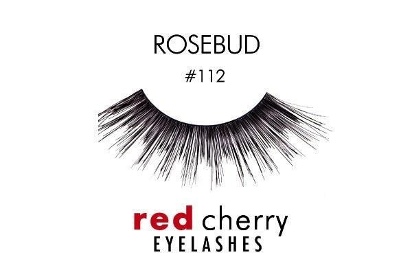 112 - rosebud - red cherry lashes - lashes