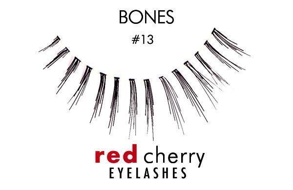 13 - bones - red cherry lashes - lashes