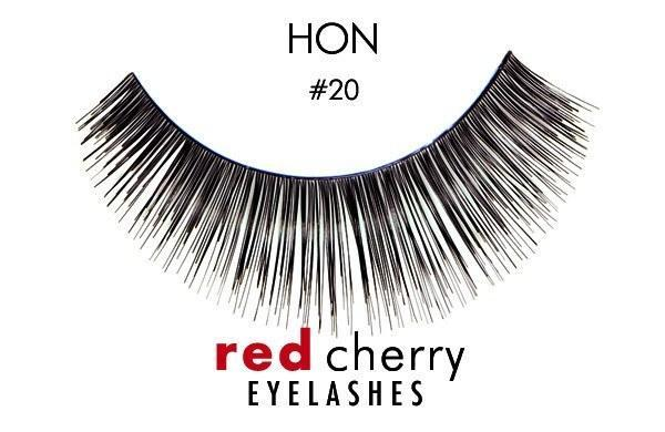 20 - hon - red cherry lashes - lashes