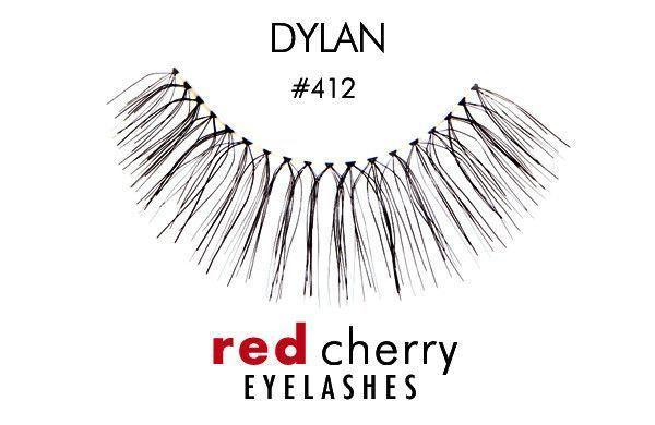 412 - dylan - red cherry lashes - lashes
