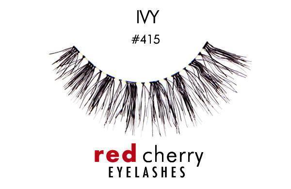 415 - ivy - red cherry lashes - lashes