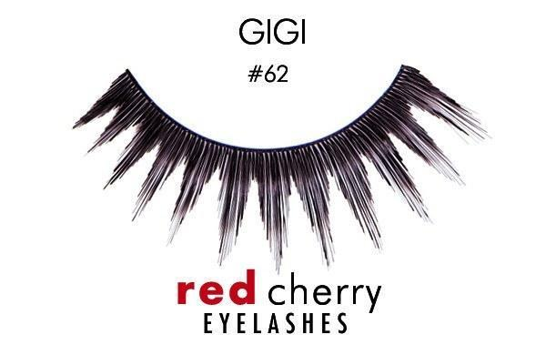 62 - gigi - red cherry lashes - lashes
