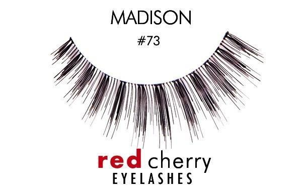73 - madison - red cherry lashes - lashes