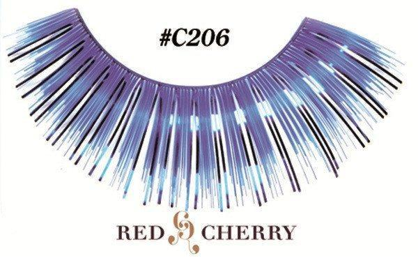 c206 - red cherry lashes - lashes