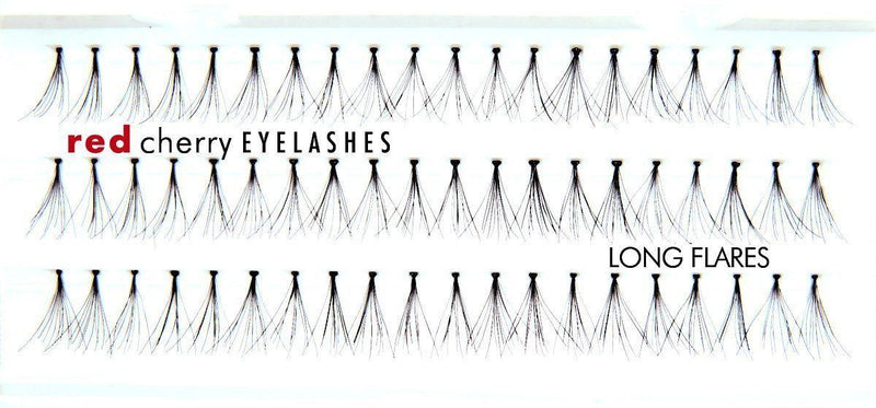 long flares - red cherry lashes - lashes
