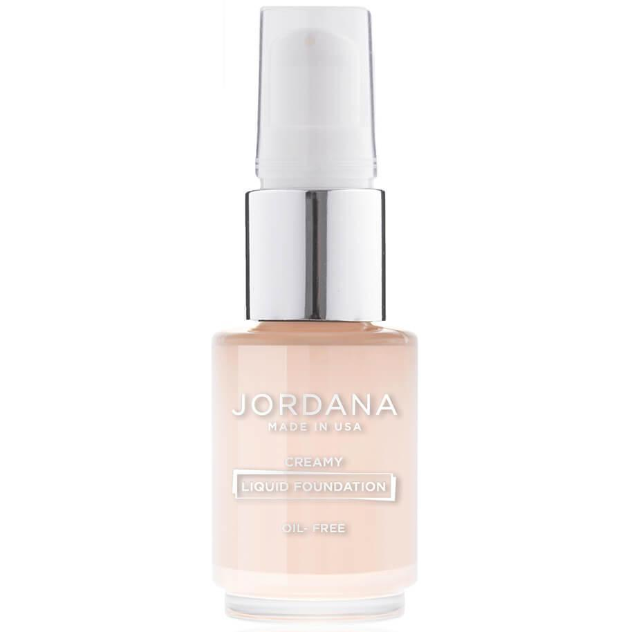 Creamy Liquid Foundation With Pump Jordana Cosmetics