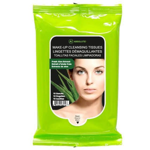 Absolute New York Makeup Cleansing Tissue Aloe