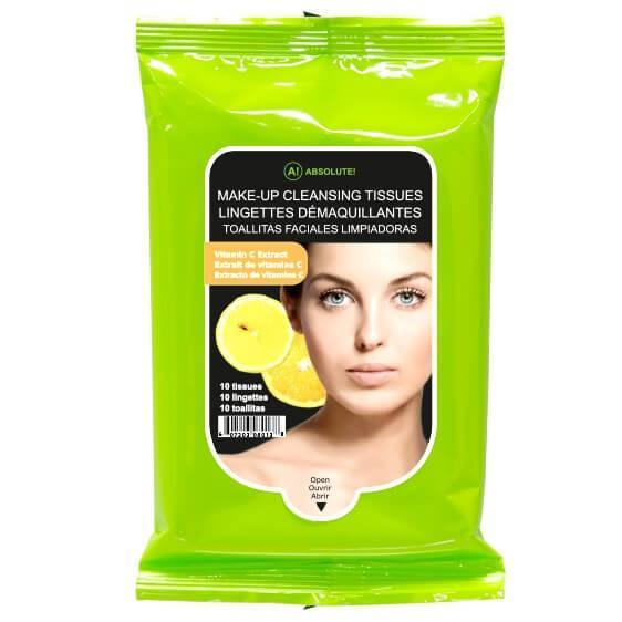 Makeup Cleansing Tissue Lemon - Absolute New York - Cleansing Tissue