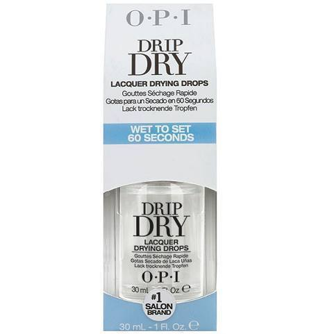 drip dry lacquer drying drops - opi - nail polish