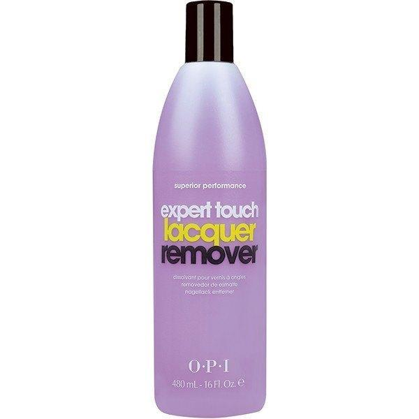 expert touch lacquer remover (16 fl. oz.) - opi - nail polish