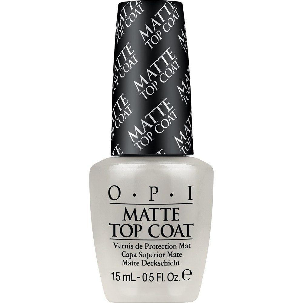 matte top coat - opi - nail polish