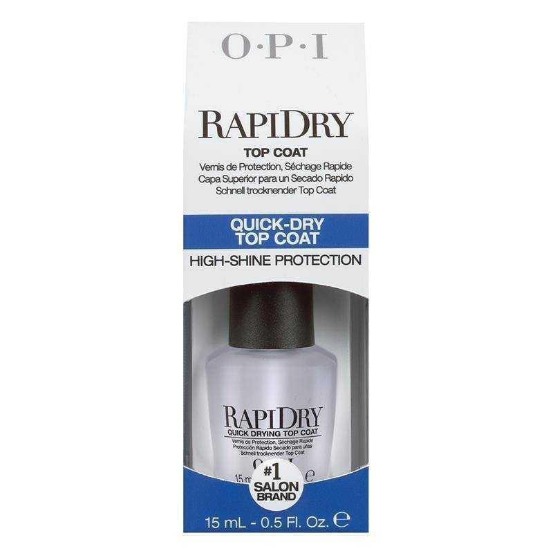 rapid dry top coat - opi - nail polish