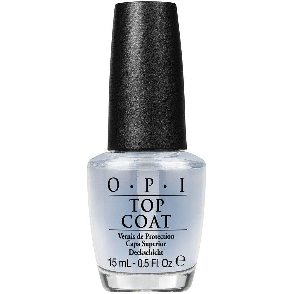 top coat - opi - nail polish