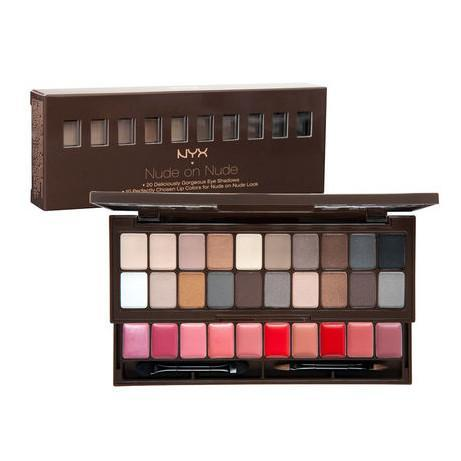 nude on nude - nyx cosmetics - makeup palette