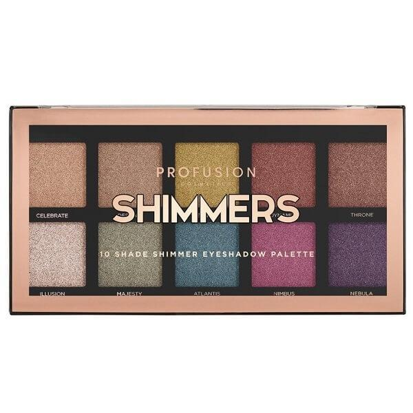 Profusion Cosmetics Shimmers Palette