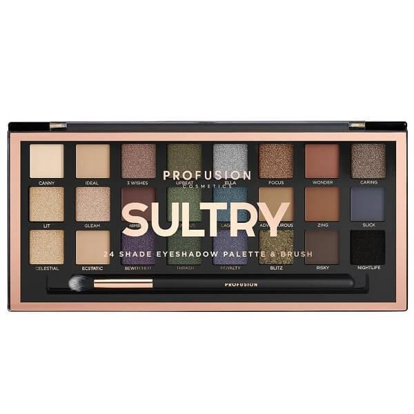 Profusion Cosmetics Sultry Palette & Brush