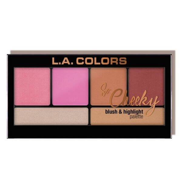 LA Colors So Cheeky Blush & Highlight Palette