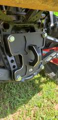 CA Tech USA Honda Talon Rear Pull Plate