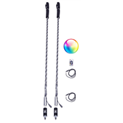 5150 2X LED WHIPS W/WIRELESS REMOTE