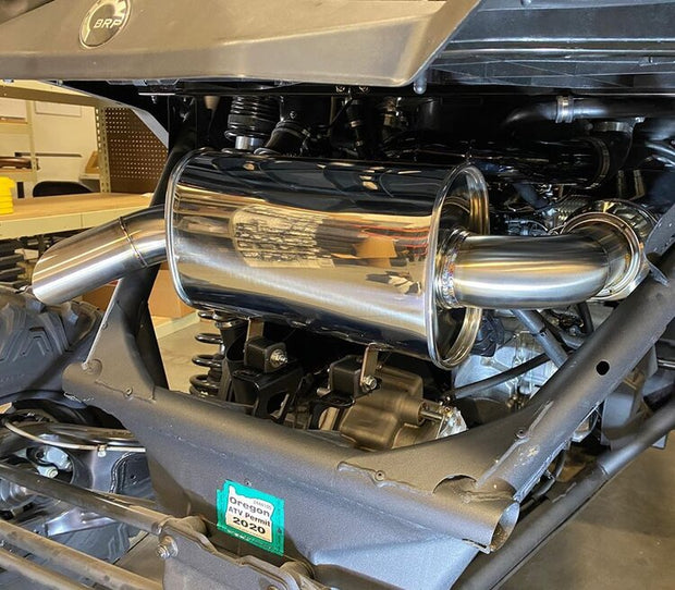 Treal Performance 2017-2020 Can-Am X3 Trail Side Exit Exhaust System