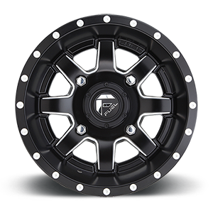 Fuel UTV Maverick D538 Black & Milled