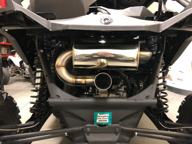 Treal Performance 2017-2020 Can-Am X3 Rear Muffler Section