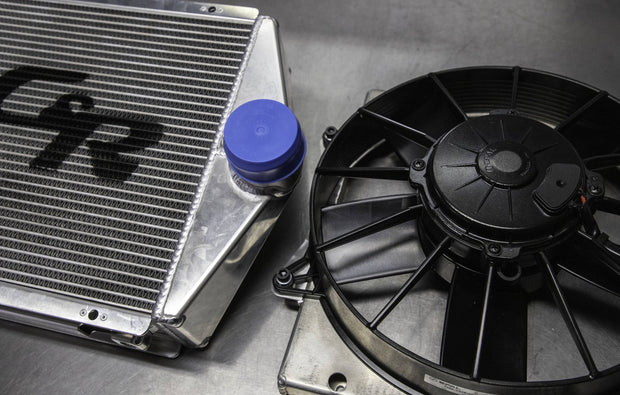 "WSRD Can-Am 10"" Intercooler Fan & Shroud Assembly"