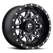 Fuel UTV Lethal D567 Black & Milled