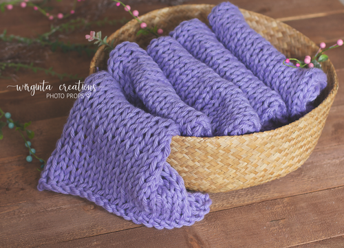 Blanket/layer. Lilac. Bump blanket. Basket filler. Ready to send. Photo prop