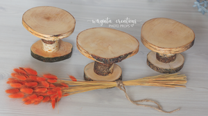 Wood Cake Plate, Birch Cake Smash Stand, Handmade, Dessert plate, Rustic Cake Plate, Ready to send