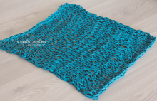 Load image into Gallery viewer, Handmade chunky knitted blankets/layers. Ready to send