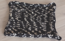 Load image into Gallery viewer, Handmade knitted layer/blanket. Ready to send