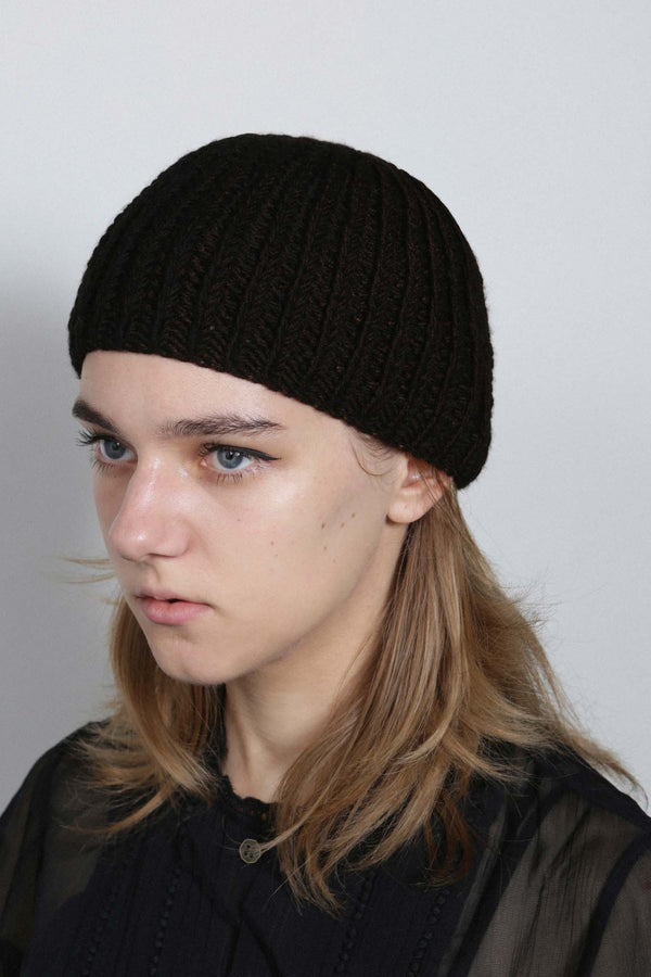 Copper Hand Knitted Beanie