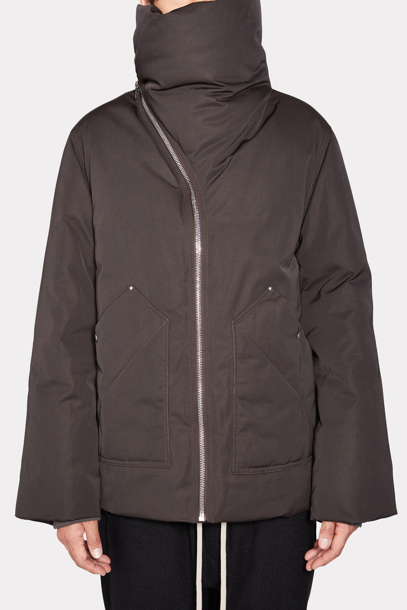 DRK DUST MOUNTAIN DUVET DOWN JACKET