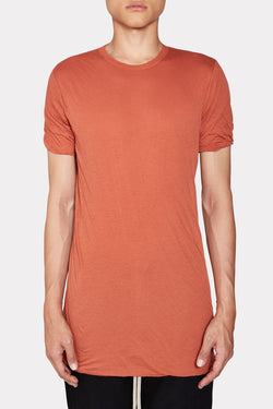 ORANGE COTTON DOUBLE SHORTSLEEVE TSHIRT