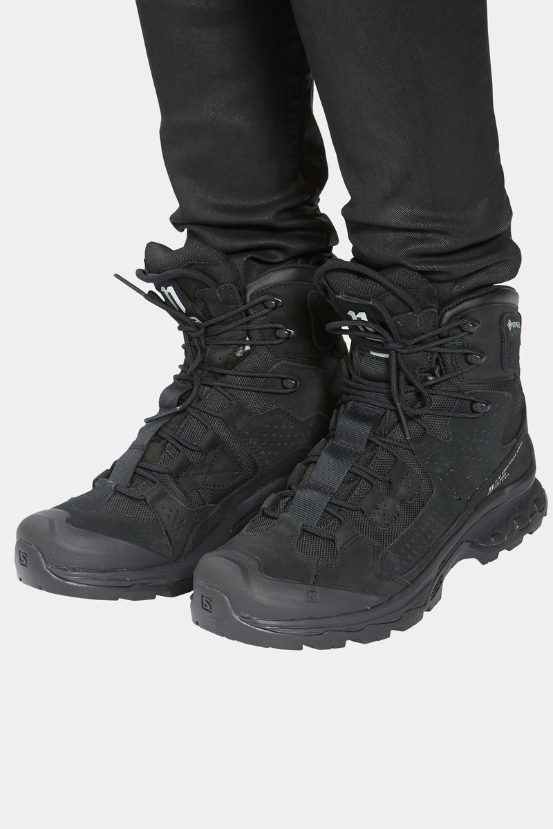 BLACK SALOMON BOOT 2 GTX SNEAKERS