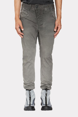 DIRTY GREY REGULAR FIT TROUSERS