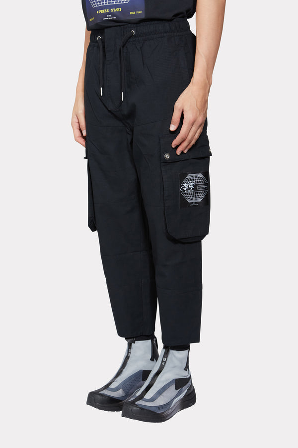 Black Sweatpants with Logo
