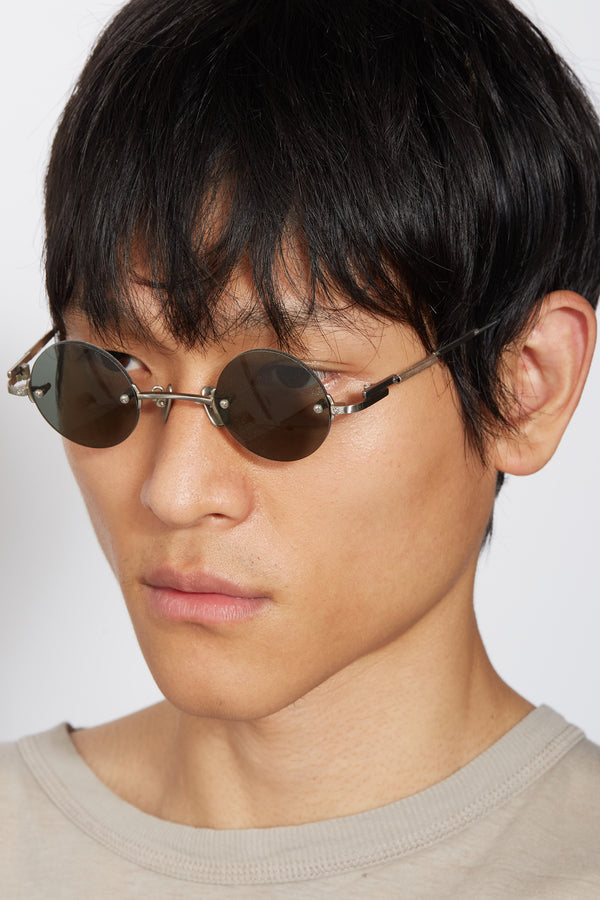 O-Megane Rimless Glasses