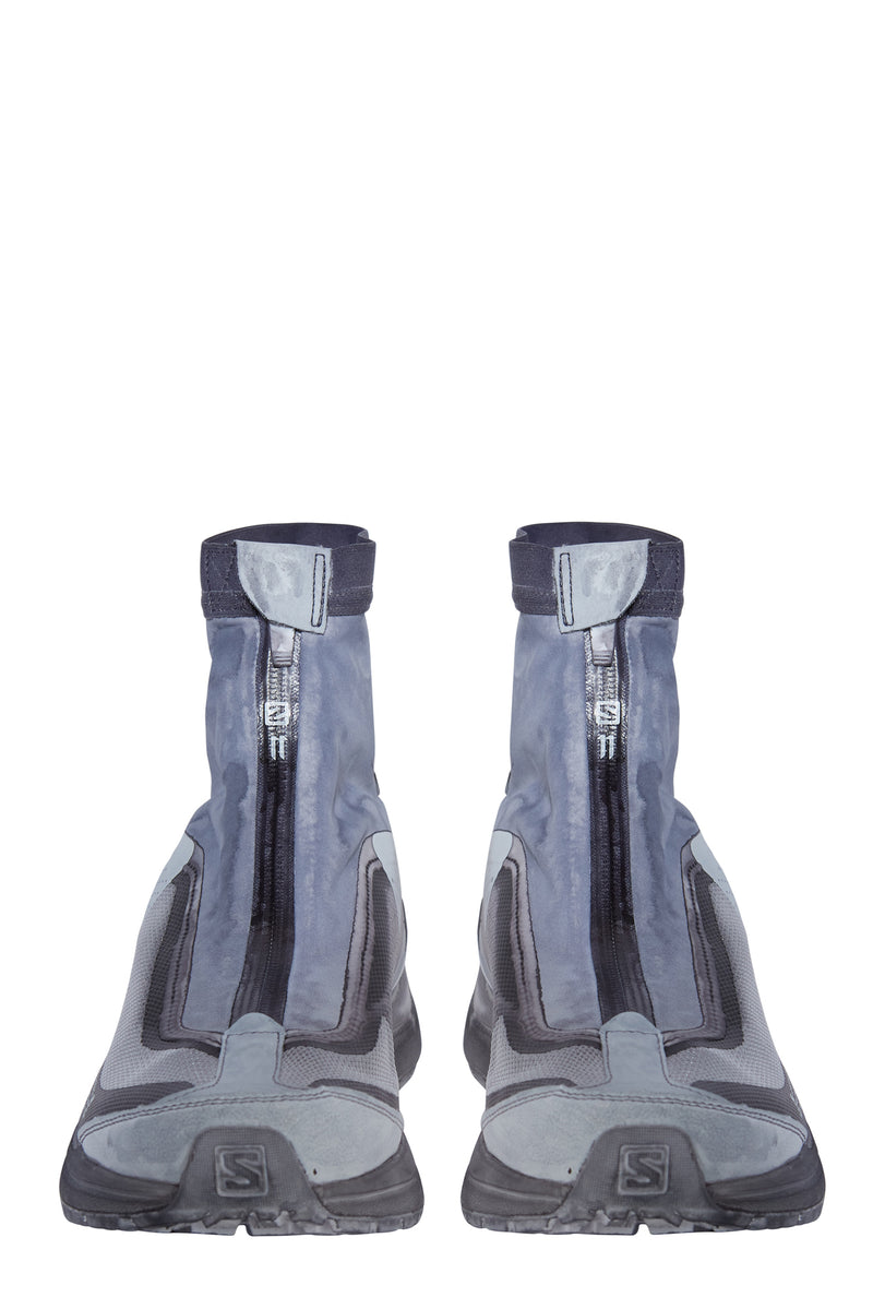 ICE GREY SALOMON BAMBA2 HIGH SNEAKERS