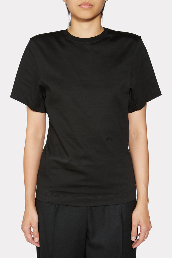 SHOULDER PADDED TSHIRT