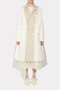 MICHAELLE Deconstructed tailored coat
