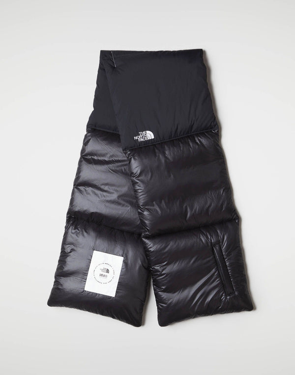MM6 x The North Face Nuptse Scarf Black